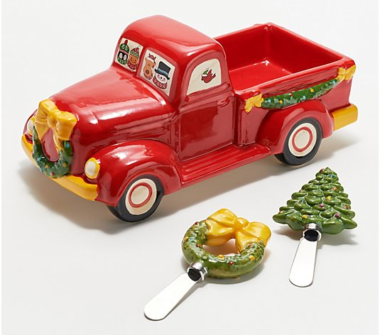 Temp-tations Holiday Dip Truck with Two Spreaders