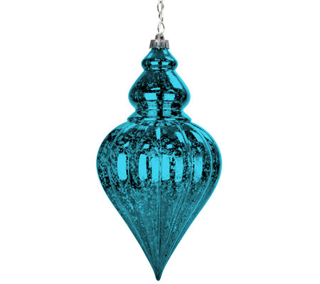 Exhart Large Drop Point Hanging Ornament