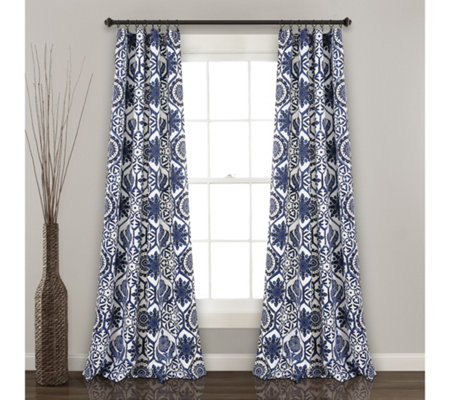 Marvel Room Darkening Window Curtains by Lush Decor
