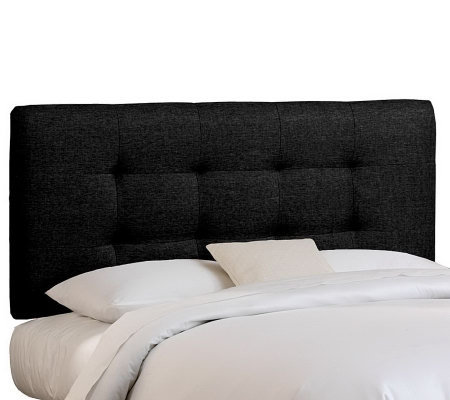 Skyline Furniture Queen Pull Tuft Upholstered Headboard