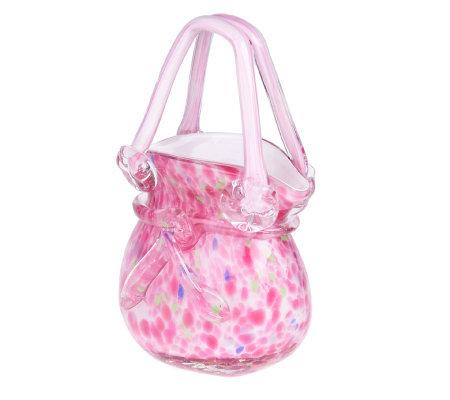 Glass Handbags Decorative Accent Handbag