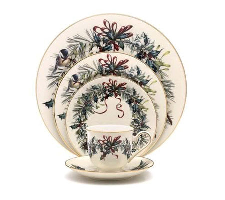 Lenox Winter Greetings 5 pc Place Setting