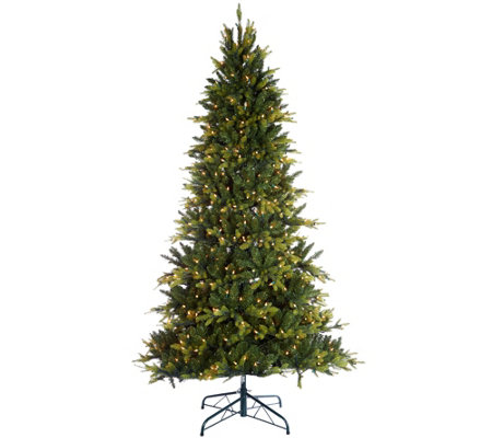 Bethlehem Lights 9' Prelit Noble Spruce Tree w/ Multi-Functions