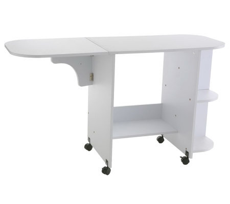 Gainesville Convertible White Sewing Table