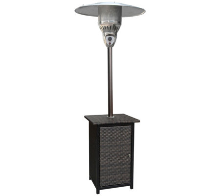 Hanover 7 Ft 41 000 Btu Square Wicker Propanepatio Heater
