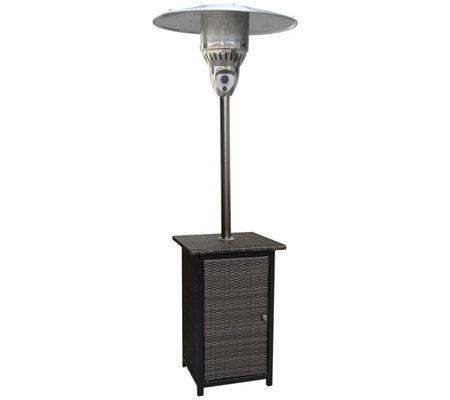 Hanover 7 Ft 41 000 Btu Square Wicker Propanepatio Heater