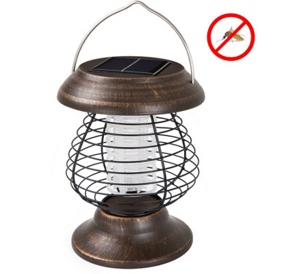 Wakeman Outdoors Solar Power UV Mosquito ZapperLantern