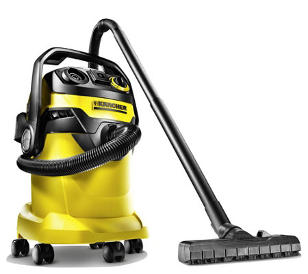 Karcher Wet Dry Vacuum w/ Power Tool Outlet - 6.6 Gallon Tank