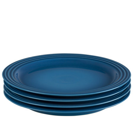 "Le Creuset Set of (4) 10.50"" Dinner Plates"