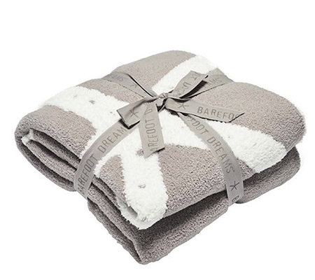 Barefoot Dreams Cozychic Starfish Blanket