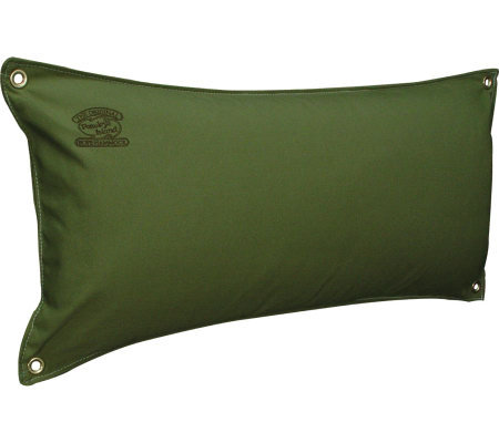 Pawleys Island Large Pillow - Leaf Green Chambray Solid