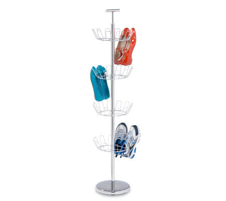 Honey-Can-Do 4-Tier Chrome Shoe Tree