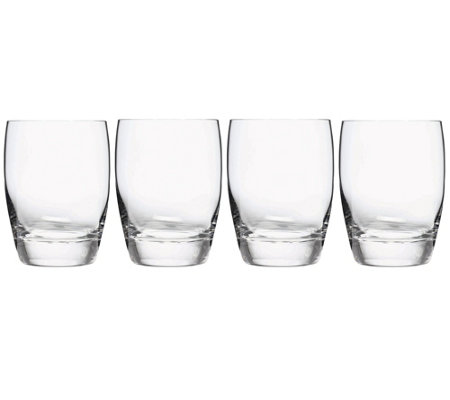 Luigi Bormioli Michelangelo Double Old-Fashioned Glass S/4