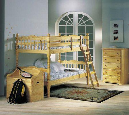Ventura Twin Twin Bunk Bed W Ladder By Acme Furniture Qvc Com