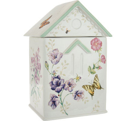 Lenox Butterfly Meadow Limited Edition Cookie Jar