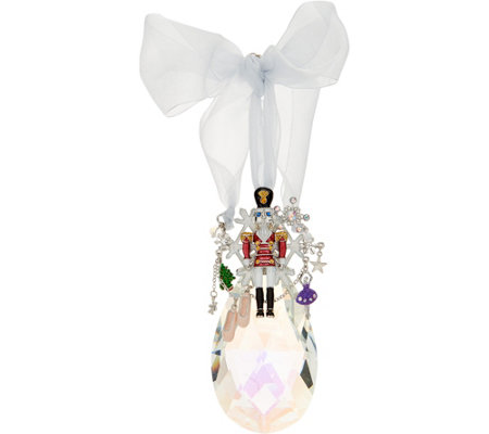 Kirks Folly Nutcracker Suite Crystal Ornament