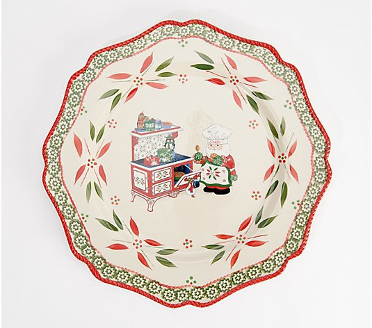 Temp-tations Special Edition Holiday Round Platter