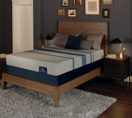 Serta iComfort Blue Max 1000 Plush Cal King Mattress Set