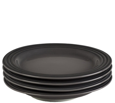 "Le Creuset Set of (4) 8.50"" Salad Plates"