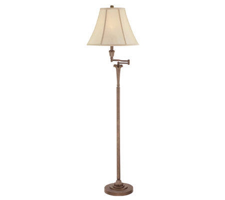 "Archer Collection 61"" Swing Arm Floor Lamp"