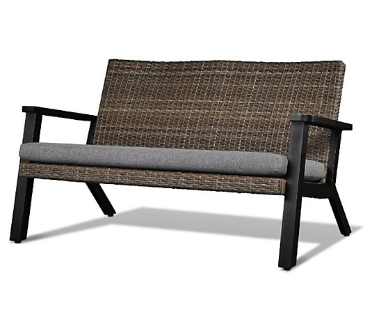 Real Flame Norwood Two-Seat Bench