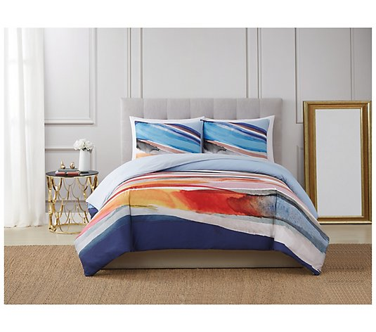 Vince Camuto Allaire 3-Piece King Duvet Cover Set