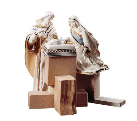 Lenox First Blessing Nativity Holy Family 3-Piece Set