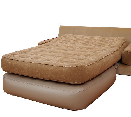 SofaLux Inflatable Queen Size Sofa Sleeper Page 1 — QVC