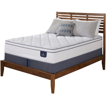 King mattress set Wood Serta Perfect Sleeper Freeport Eurotop King Mattress Set Qvccom Serta Perfect Sleeper Freeport Eurotop King Mattress Set Page