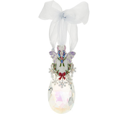 Kirks Folly Cloud Dancer Crystal Ornament