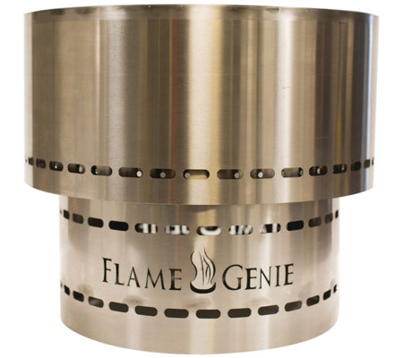 Flame Genie Inferno Fire Pit Stainless Steel