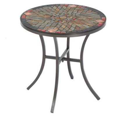 Ceramic Mosaic Outdoor Side Patio Table