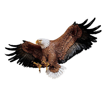 Design Toscano Freedom's Pride Eagle Wall Plaque