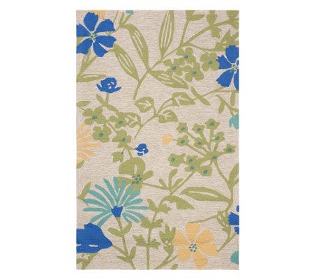 Martha Stewart Meadow Floral 4 X 6 Rug