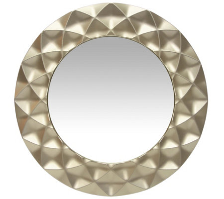 Infinity Instruments Glam 18 Champagne Wall Mirror