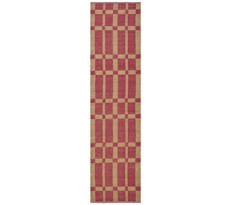 Thom Filicia 2' x 8' Chatham Recycled Plastic Outdoor Rug