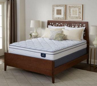 Serta Perfect Sleeper Carmine Euro Top Queen Mattress Set