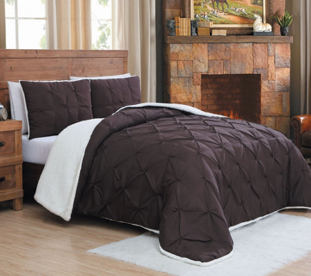 Avondale Manor Avalanche Chandler 3-Pc Sherpa KG Comforter Set
