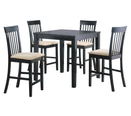 Miranda 5 Piece Counter Height Table Set by Acme Furniture