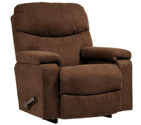 Beau La Z Boy Cache Rocker Recliner With Arm Storage U0026 Memory Foam