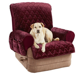 Sure Fit Plush Comfort Stretch Recliner Cover H214877