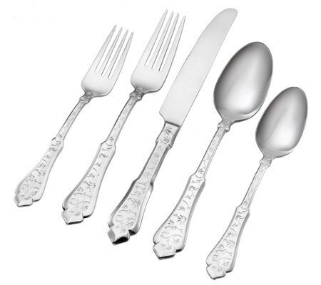 Argent Orfevres Embroidery 18/10 90-Piece Set