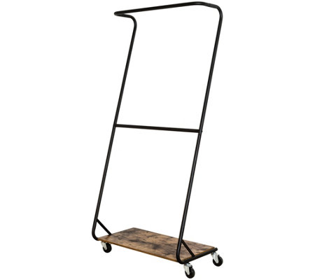Honey-Can-Do Z-Frame Double Bar Garment Rack