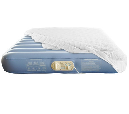 Aerobed Commercial Grade Queen Air Mattress w/Mattress Cover