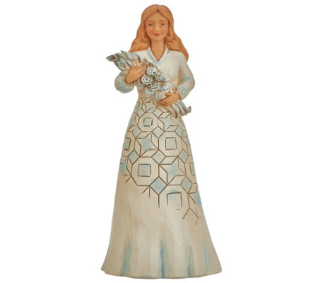 Jim Shore Sentiment Collection Thinking of You Figurine