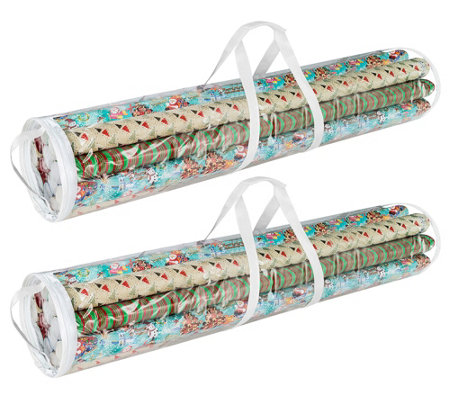 Elf Stor 40 Xl Wrapping Paper Storage Set Of2
