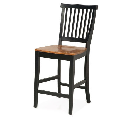 Home Styles Kitchen Stool with Oak Seat