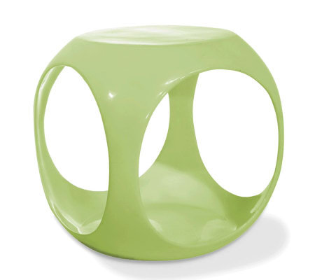 Avenue Six Slick Cube Occasional Table - Green