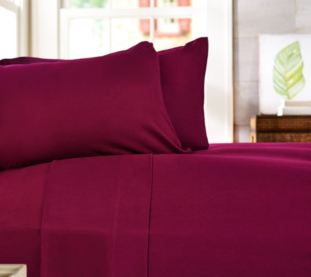 Casa Zeta-Jones Rayon made from Bamboo Flannel FL Sheets made in Portugal