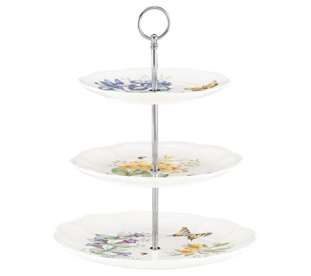 Lenox Butterfly Meadow 3-Tier Server